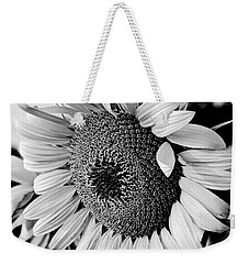 Weekender Tote Bag featuring the photograph Sunflower by Dan Wells