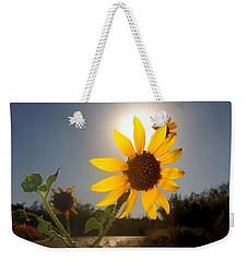 Sunflower Weekender Tote Bag by Mistys DesertSerenity