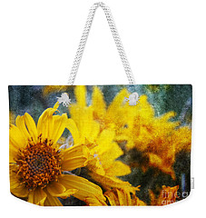 Sunflowers Weekender Tote Bag by Alyce Taylor