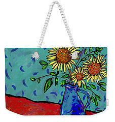 Sunflowers In A Milk Pitcher Weekender Tote Bag