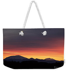 Sunrise 3 Weekender Tote Bag by Chalet Roome-Rigdon