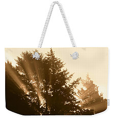 Sunrise In Sepia Weekender Tote Bag