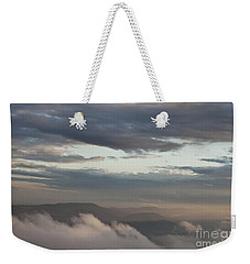Sunrise In The Mountains Weekender Tote Bag by Jeannette Hunt