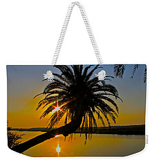 Weekender Tote Bag featuring the photograph Sunrise On The Loop by Alice Gipson