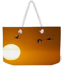 Sunset 3 Weekender Tote Bag