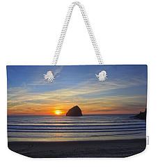 Sunset At Cape Kiwanda Oregon Weekender Tote Bag