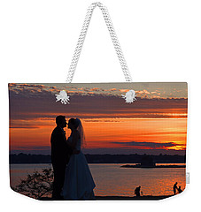 Sunset At Night A Wedding Delight Weekender Tote Bag