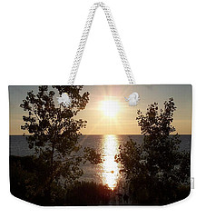 Sunset At The Point Weekender Tote Bag