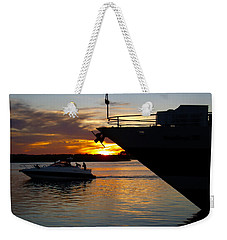 Sunset At The Shore Weekender Tote Bag