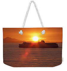 Sunset Weekender Tote Bag by Eunice Gibb