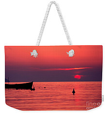 Weekender Tote Bag featuring the photograph Sunset In Elba Island by Luciano Mortula