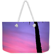 Weekender Tote Bag featuring the photograph Sunset by Luciano Mortula