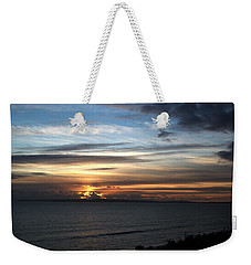 Sunset Over Poole Bay Weekender Tote Bag