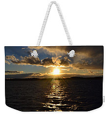 Sunset Over Winnepesaukee Weekender Tote Bag by Kevin Fortier