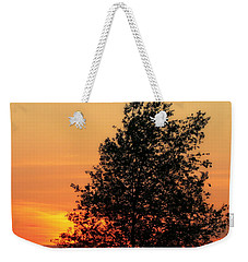 Sunset Square Weekender Tote Bag by Angela Rath