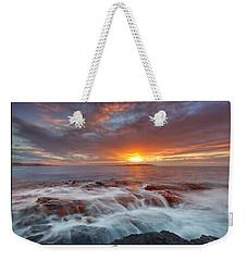 Sunset Tides - Cemlyn Weekender Tote Bag