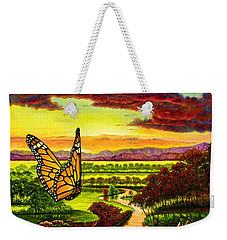 Sunshine Traveler-monarch Weekender Tote Bag