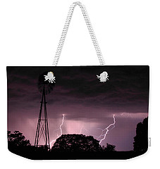 Super Storm Weekender Tote Bag