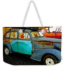 Surf Mobile Weekender Tote Bag