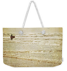 Surf The Sea And Sparkle Weekender Tote Bag by Lyn Randle