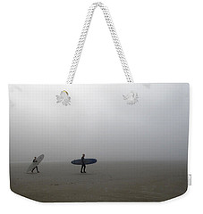 Surfing Into The Abyss Weekender Tote Bag