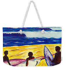 Surf's Up Weekender Tote Bag