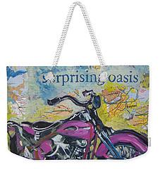 Surprising Oasis Weekender Tote Bag