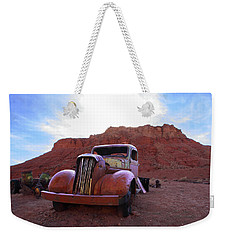 Weekender Tote Bag featuring the photograph Sweet Ride by Susan Rovira