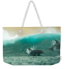 Swim Thru Weekender Tote Bag