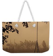 Swing In The Fog Weekender Tote Bag by Cheryl Baxter