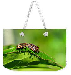 Symmetry Weekender Tote Bag