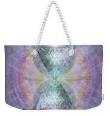Synthesphered Grail On Caducus Blazed Tapestrys Weekender Tote Bag