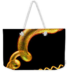 Weekender Tote Bag featuring the digital art Syphilis by Russell Kightley