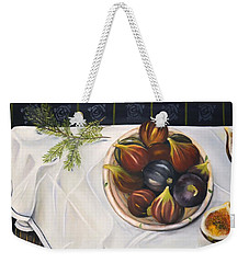 Table With Figs Weekender Tote Bag