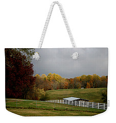 Weekender Tote Bag featuring the photograph Take A Deep Breath by EricaMaxine  Price