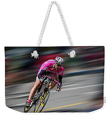 Weekender Tote Bag featuring the photograph Take It by Vicki Pelham