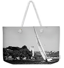 Weekender Tote Bag featuring the photograph Tall Ship Race 1 by Pedro Cardona