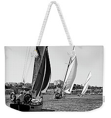 Weekender Tote Bag featuring the photograph Tall Ship Races 2 by Pedro Cardona