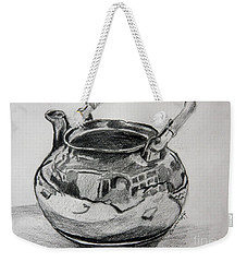 Teapot Reflections Weekender Tote Bag