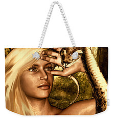 Temptation Weekender Tote Bag by Lourry Legarde