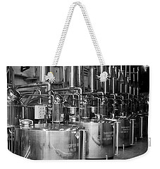 Weekender Tote Bag featuring the photograph Tequilera S.s. Distillation Tanks by Lynn Palmer