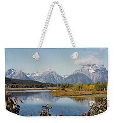 Tetons Reflection Weekender Tote Bag