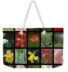 Texas Beauties Weekender Tote Bag by Kim Henderson
