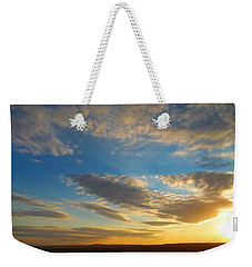 Texas Sized Sunset Weekender Tote Bag
