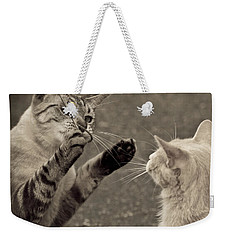 That Mouse Was This Big Weekender Tote Bag by Kim Henderson