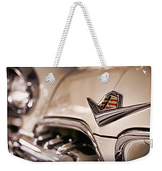 Weekender Tote Bag featuring the photograph The 1955 Dodge La Femme by Gordon Dean II