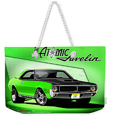 The Atomic Javelin Weekender Tote Bag