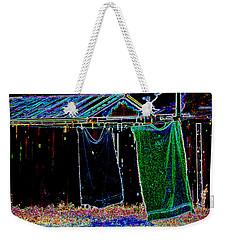 The Back Yard Weekender Tote Bag