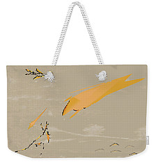 Weekender Tote Bag featuring the painting The Beast Afoot by Kevin McLaughlin