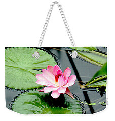 The Beauty Of Water Lily Weekender Tote Bag